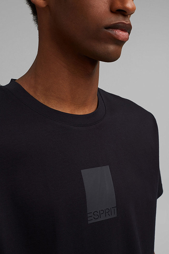 Jersey-Shirt mit COOLMAX®-Ausrüstung, BLACK, detail image number 1