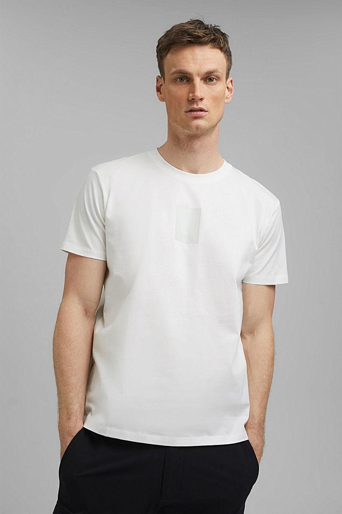Jersey-Shirt mit COOLMAX®-Ausrüstung, OFF WHITE, detail image number 0