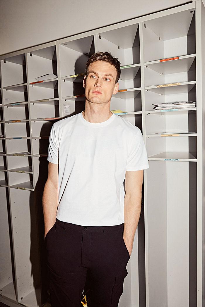 Jersey-Shirt mit COOLMAX®-Ausrüstung, OFF WHITE, detail image number 4