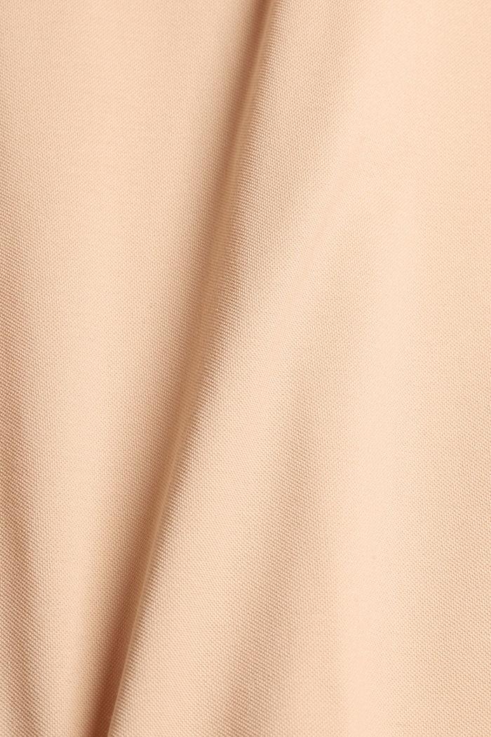 Piqué-Polo aus 100% Bio-Baumwolle, PEACH, detail image number 5