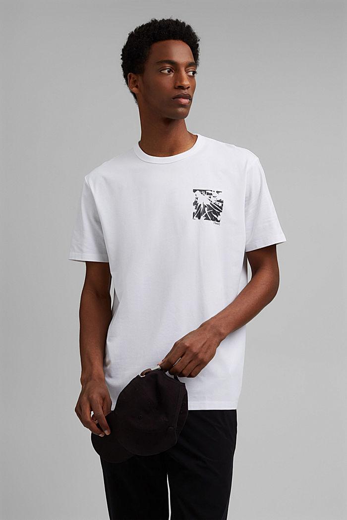 Jersey-T-Shirt mit COOLMAX®, Organic Cotton
