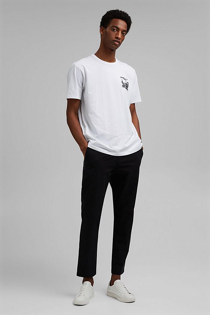 Jersey-t-paita, jossa COOLMAX®-kuitua, luomupuuvillaa, WHITE, detail image number 5