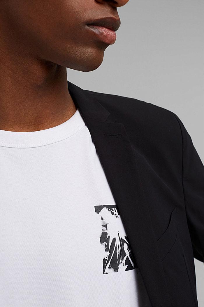Jersey-t-paita, jossa COOLMAX®-kuitua, luomupuuvillaa, WHITE, detail image number 1