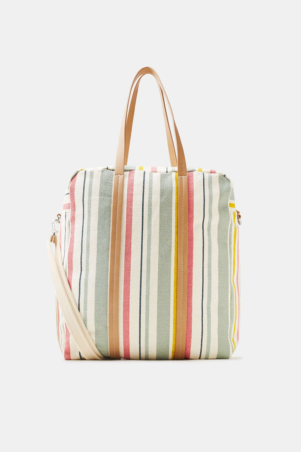 edc - Shopper with colourful stripes, made of cotton