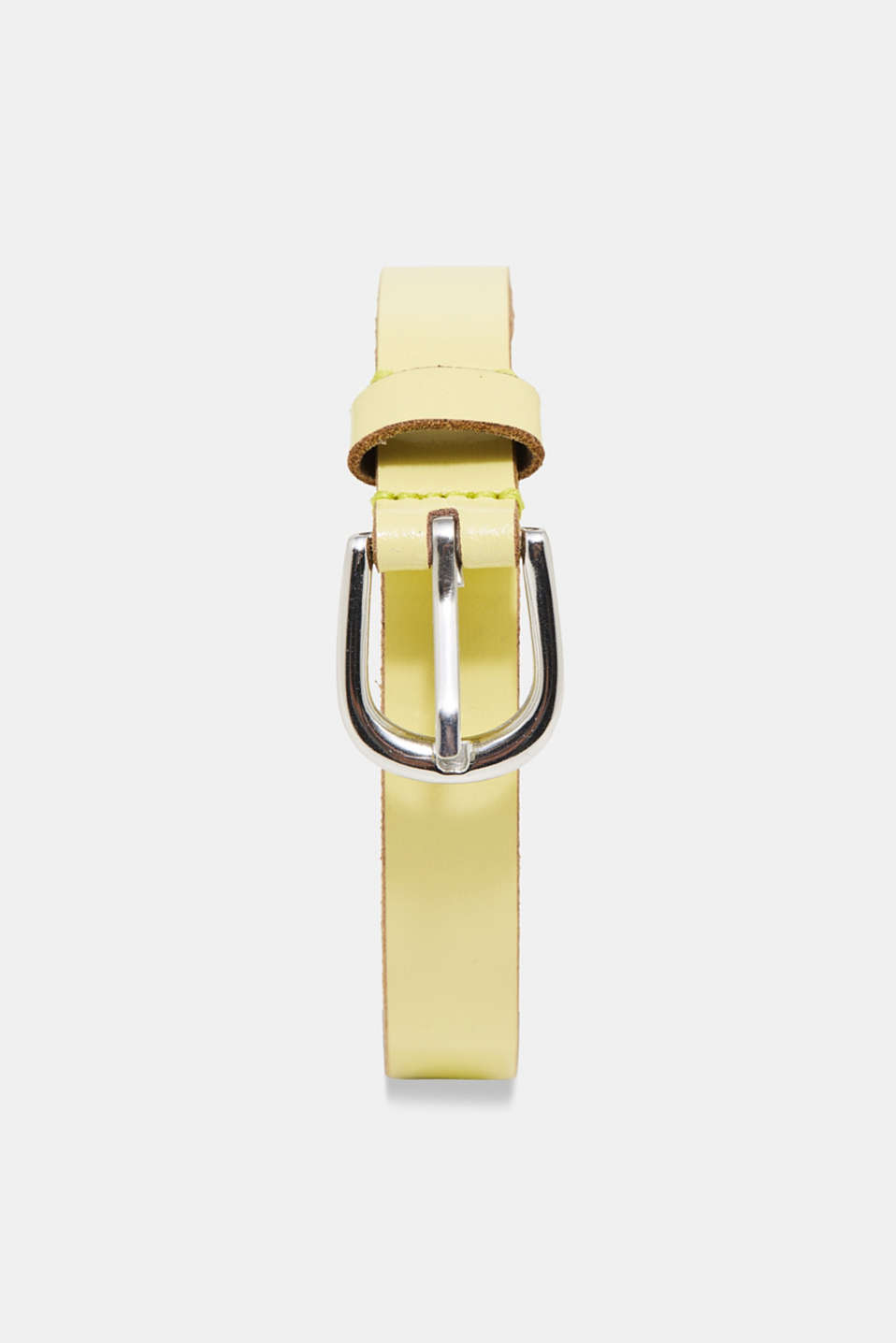 edc - Narrow patent leather belt