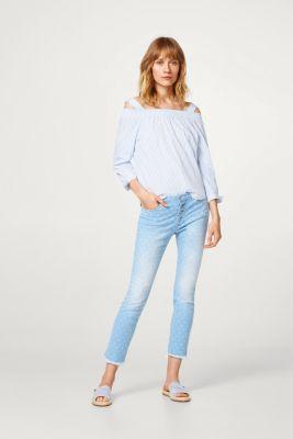Esprit Shopping En Toile Avec Imprimé Bleu Clair Coloré D'été Pour La Taille Des Femmes SOASmCowV