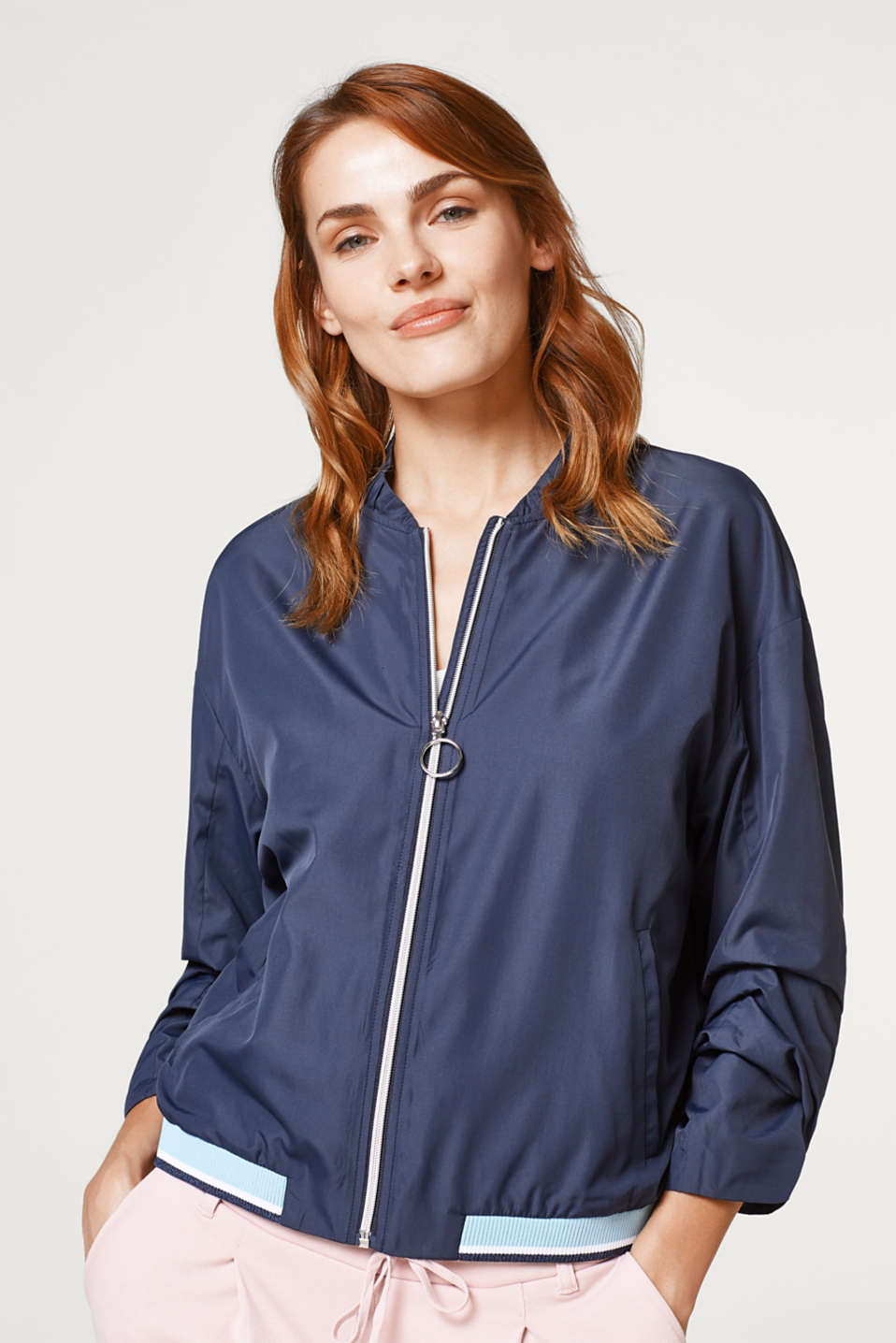 edc - Ultra-lightweight bomber jacket with pretty details