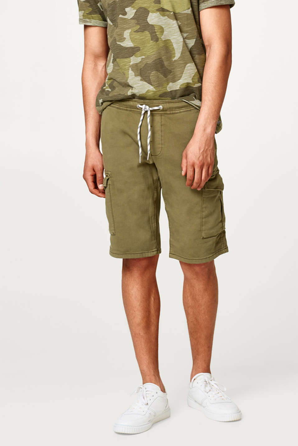 edc - Cargo shorts with cotton