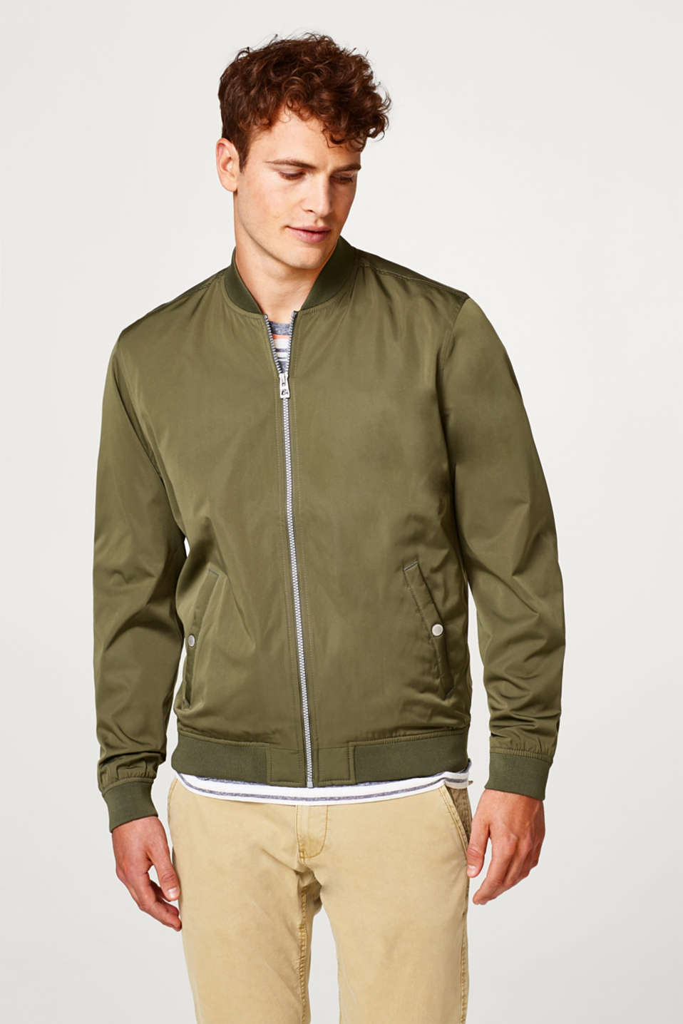 edc - Lightweight nylon bomber jacket