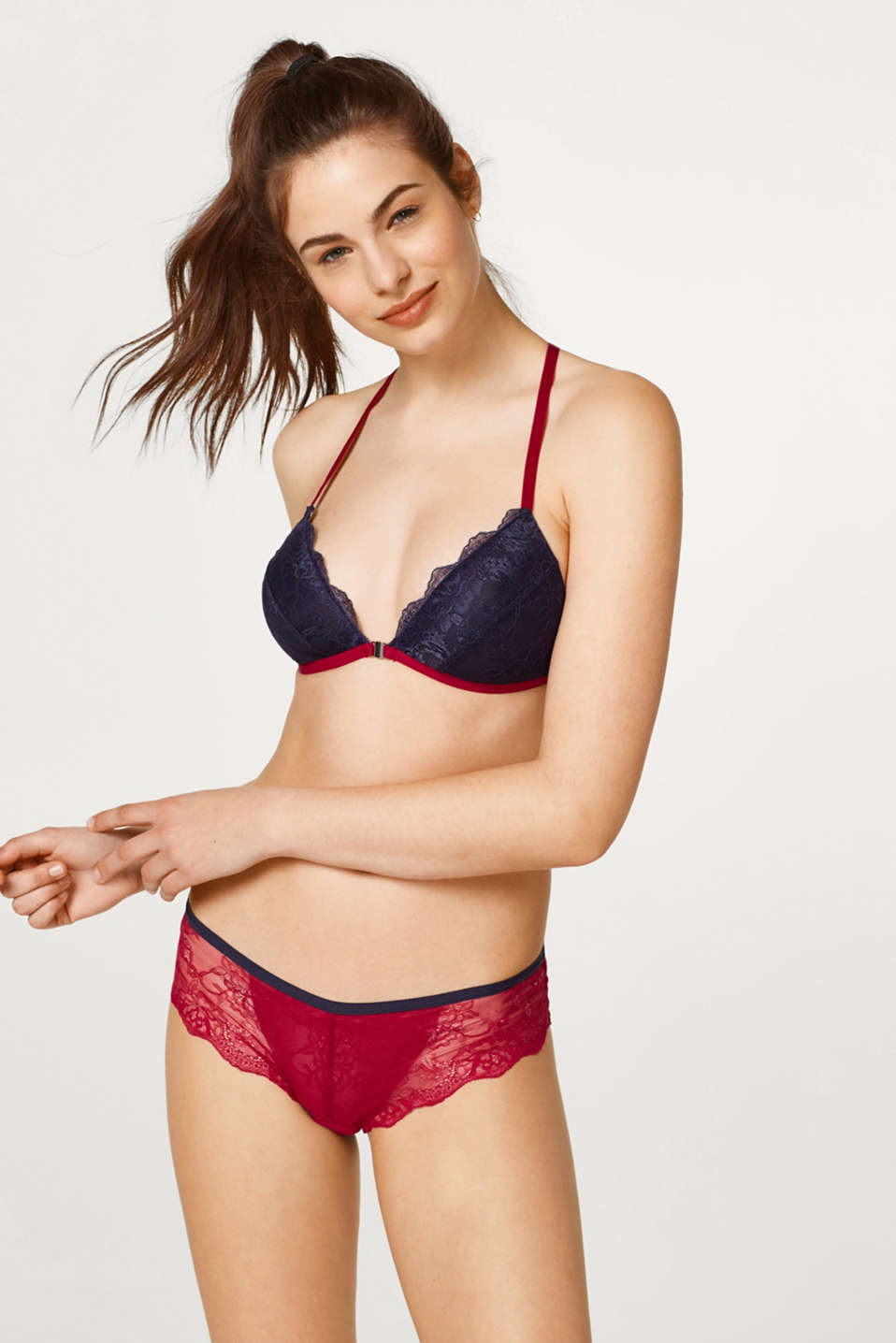 edc - Padded, non-wired lace bra