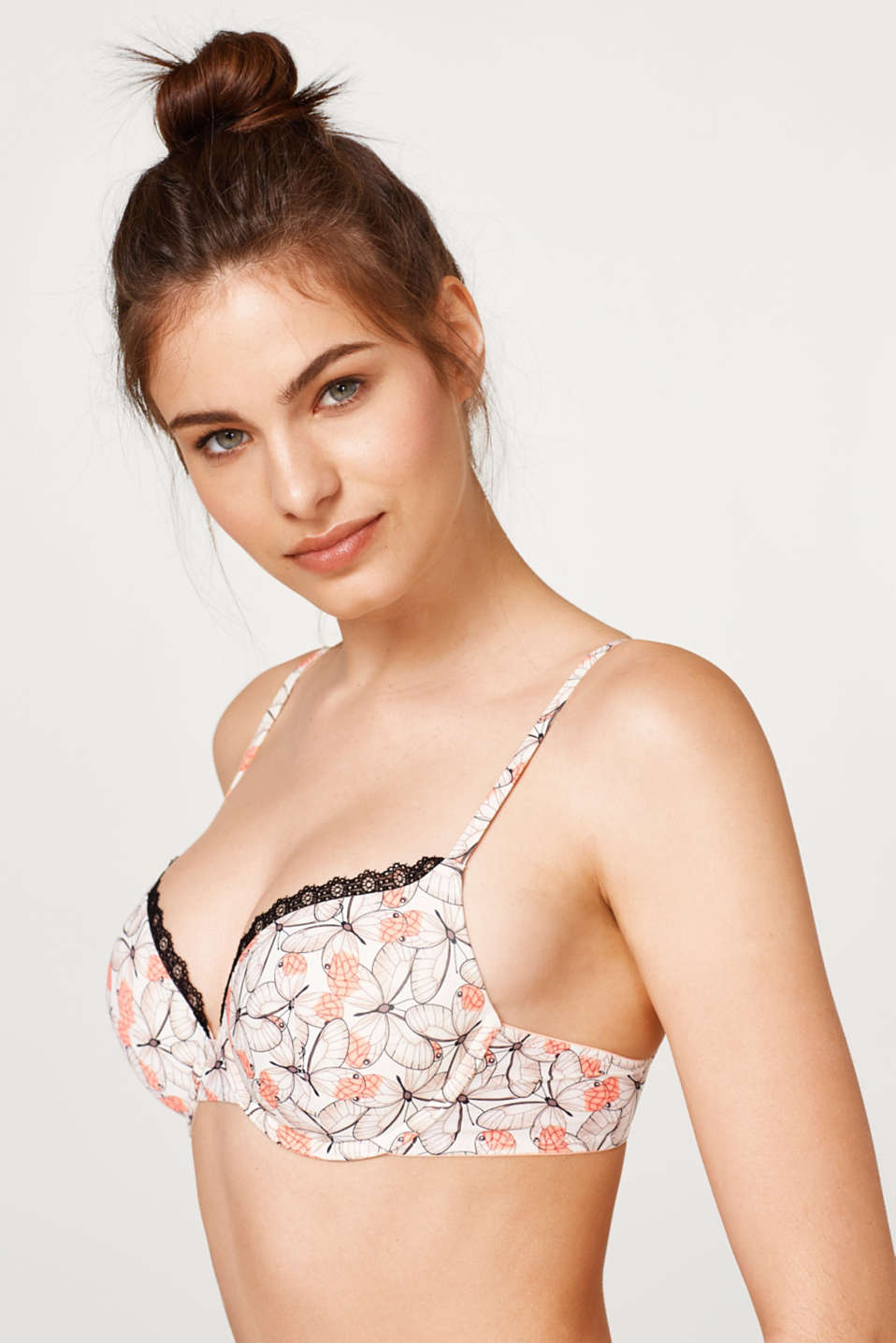edc - Padded, underwire bra with multi-way straps