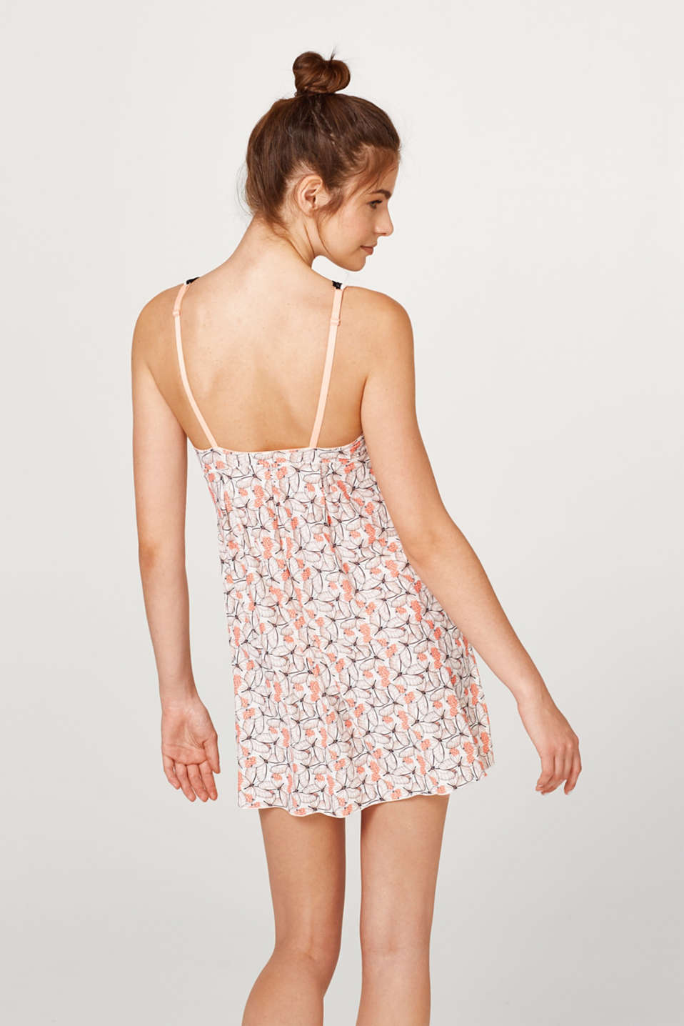 Camisole with a butterfly print