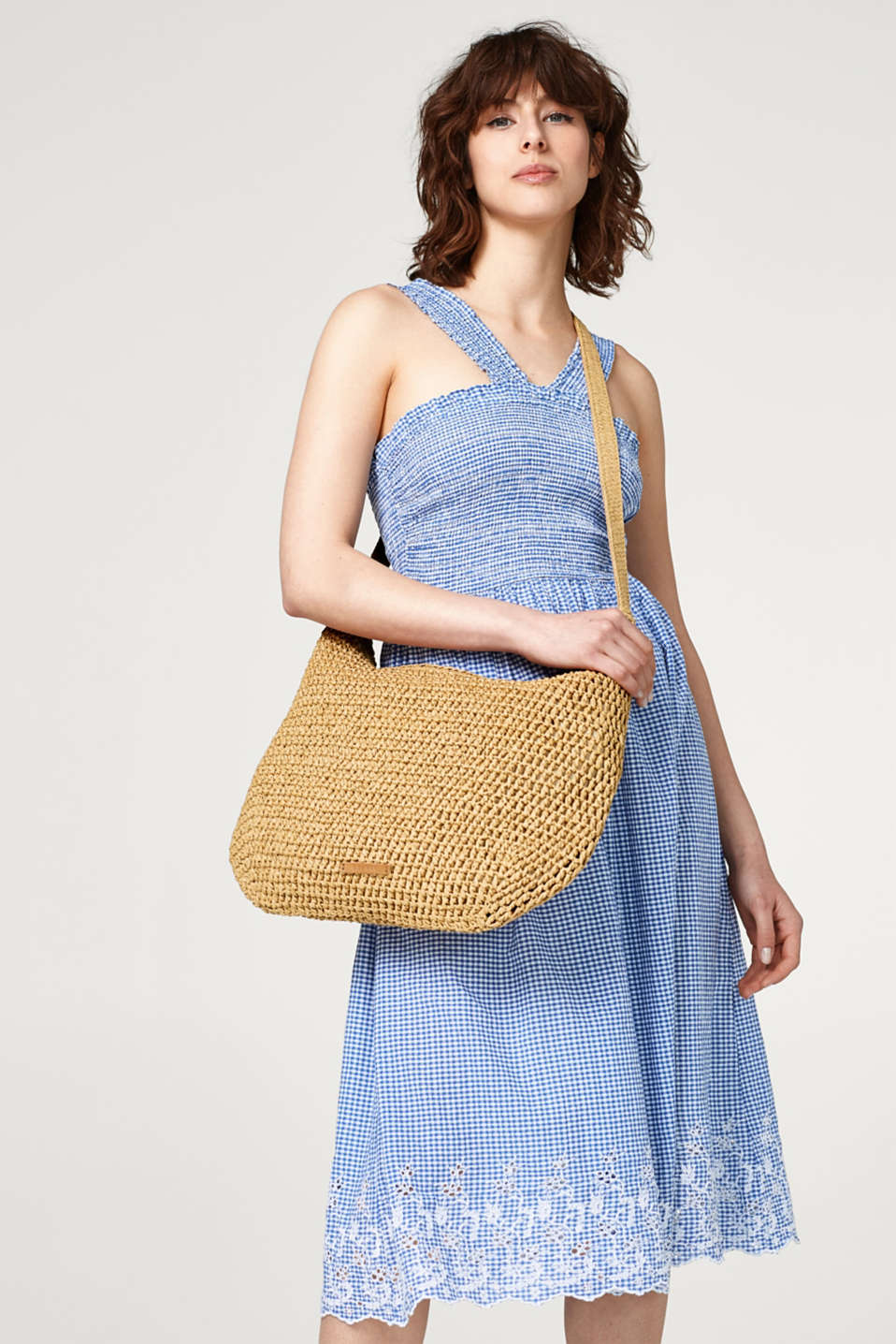Summery bast shoulder bag