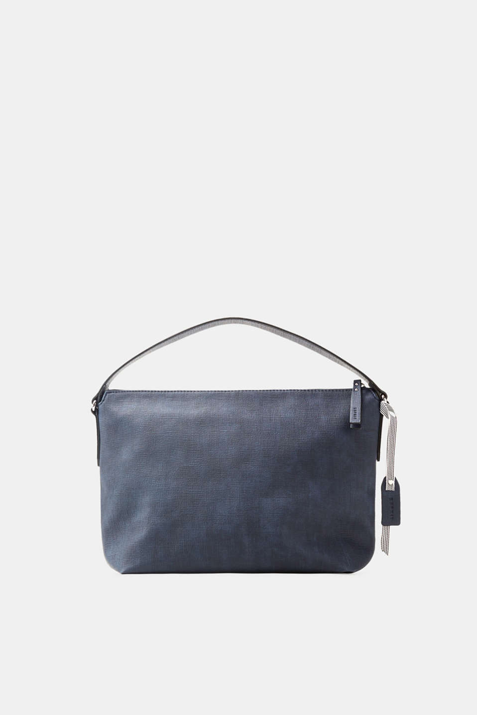 Esprit - Hobo bag in finely grained faux leather
