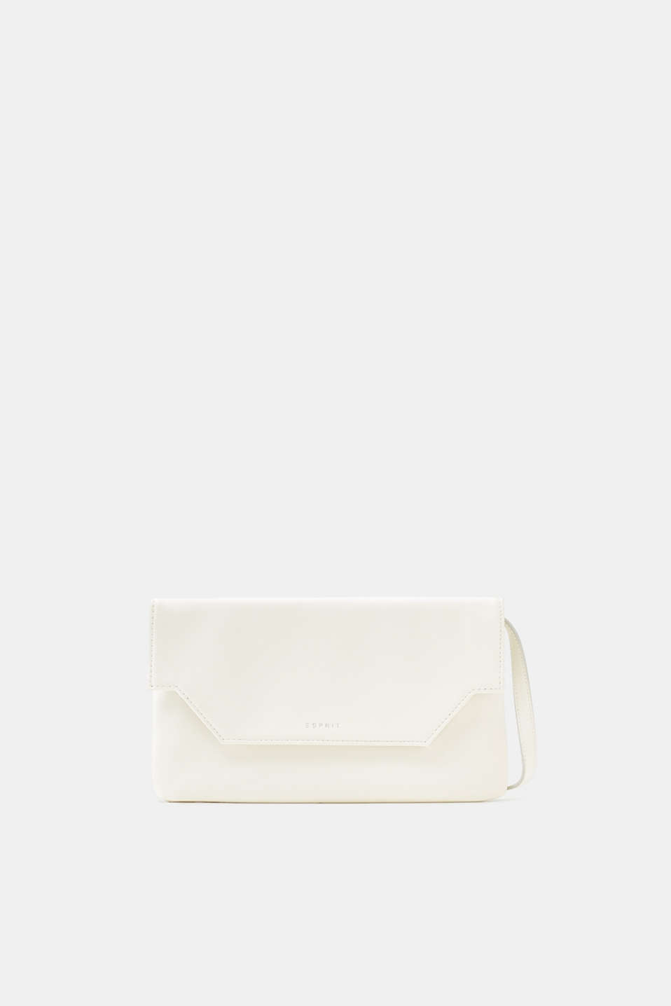 Esprit - Pochette in textured faux leather