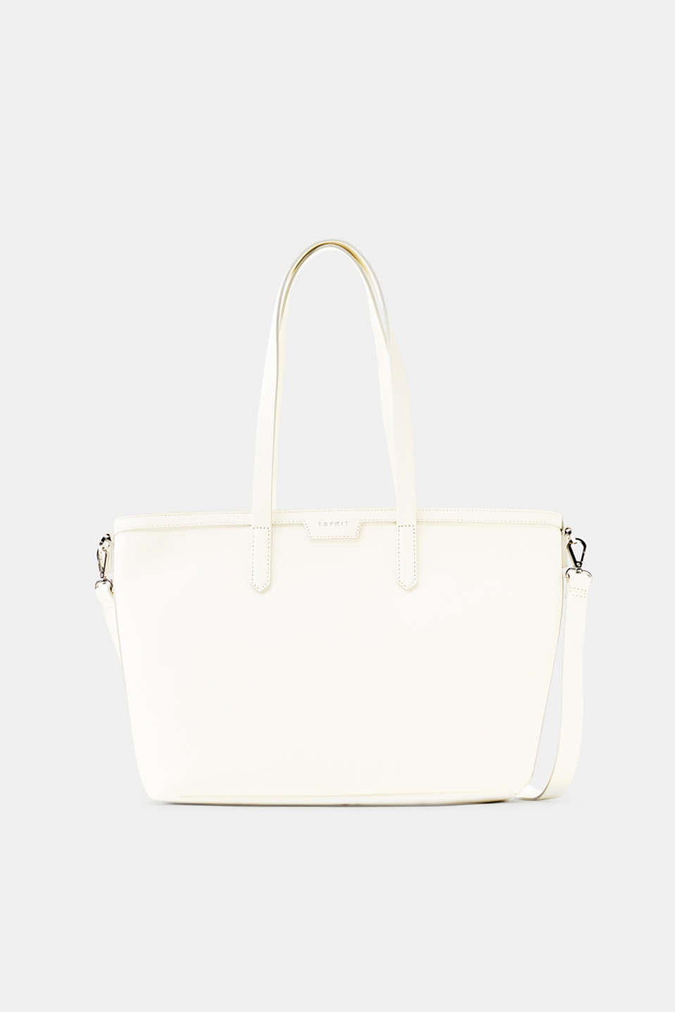 Esprit - Faux leather classic shopper