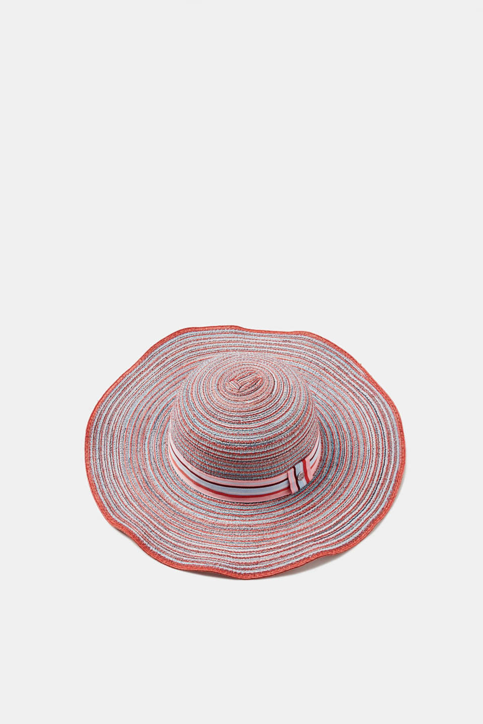 Esprit - Summery hat with stripes