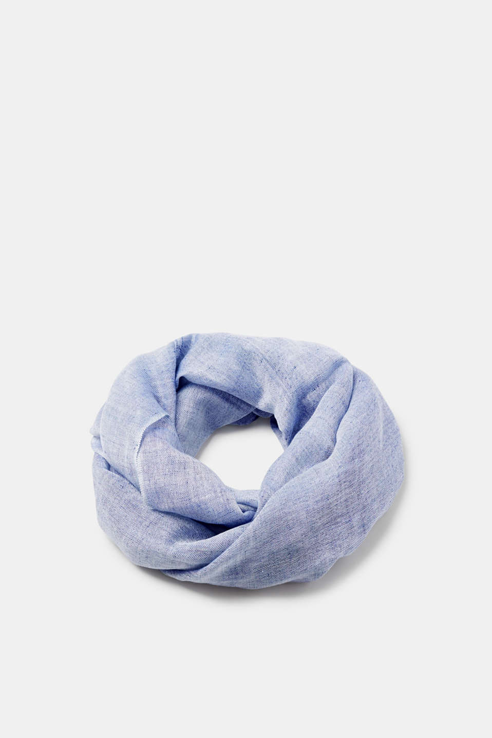 Esprit - Lightweight snood in a cool linen blend