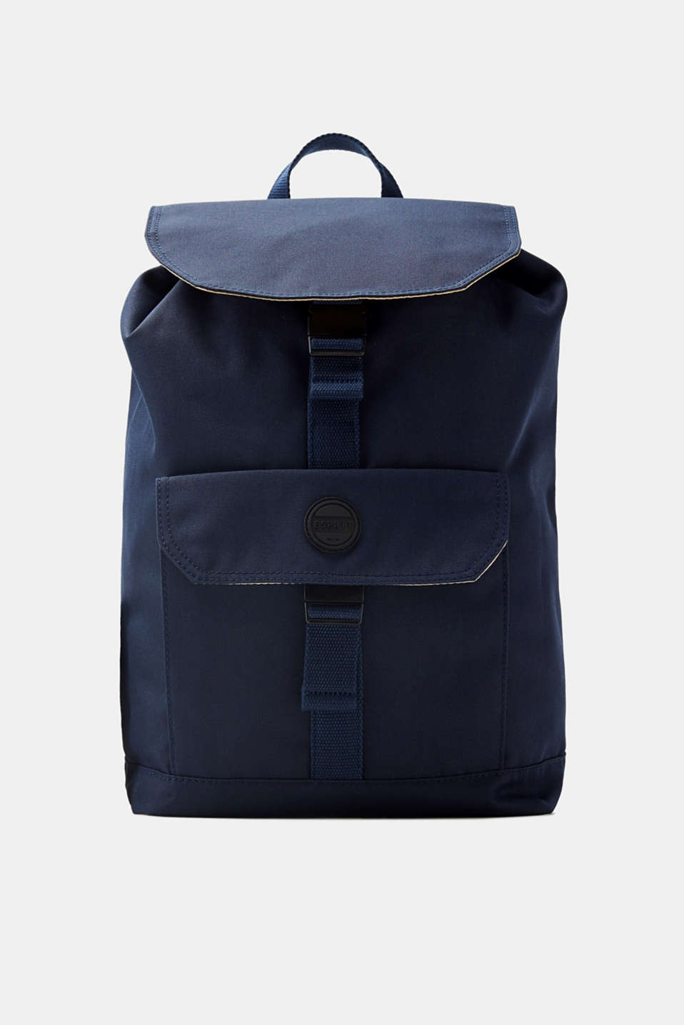 Esprit - Canvas rucksack with padded tablet pocket