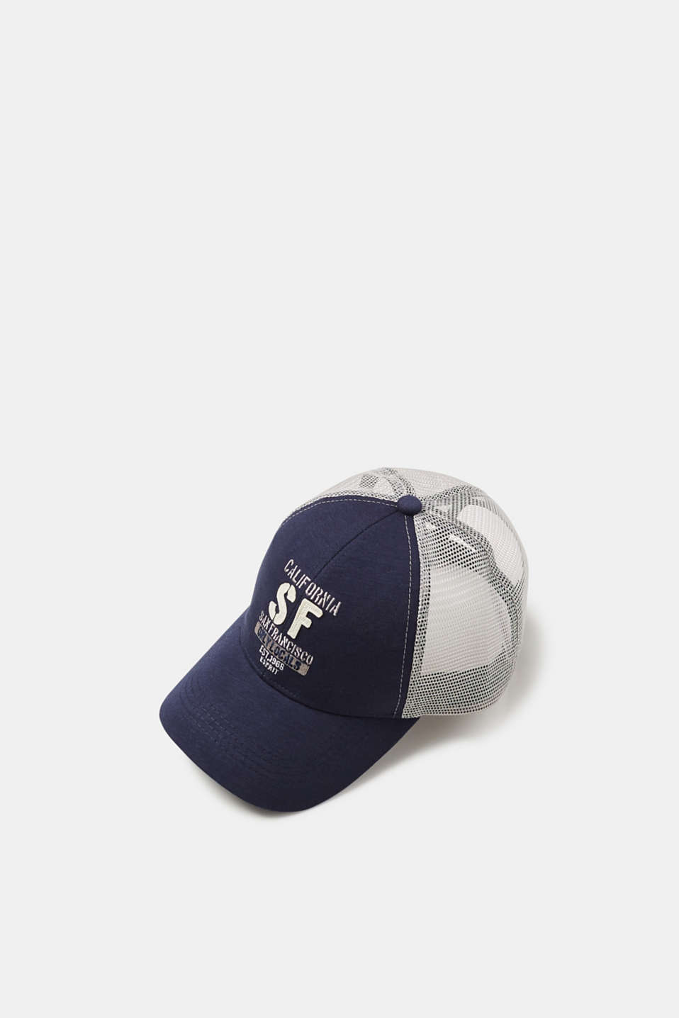 Esprit - Canvas and mesh baseball cap