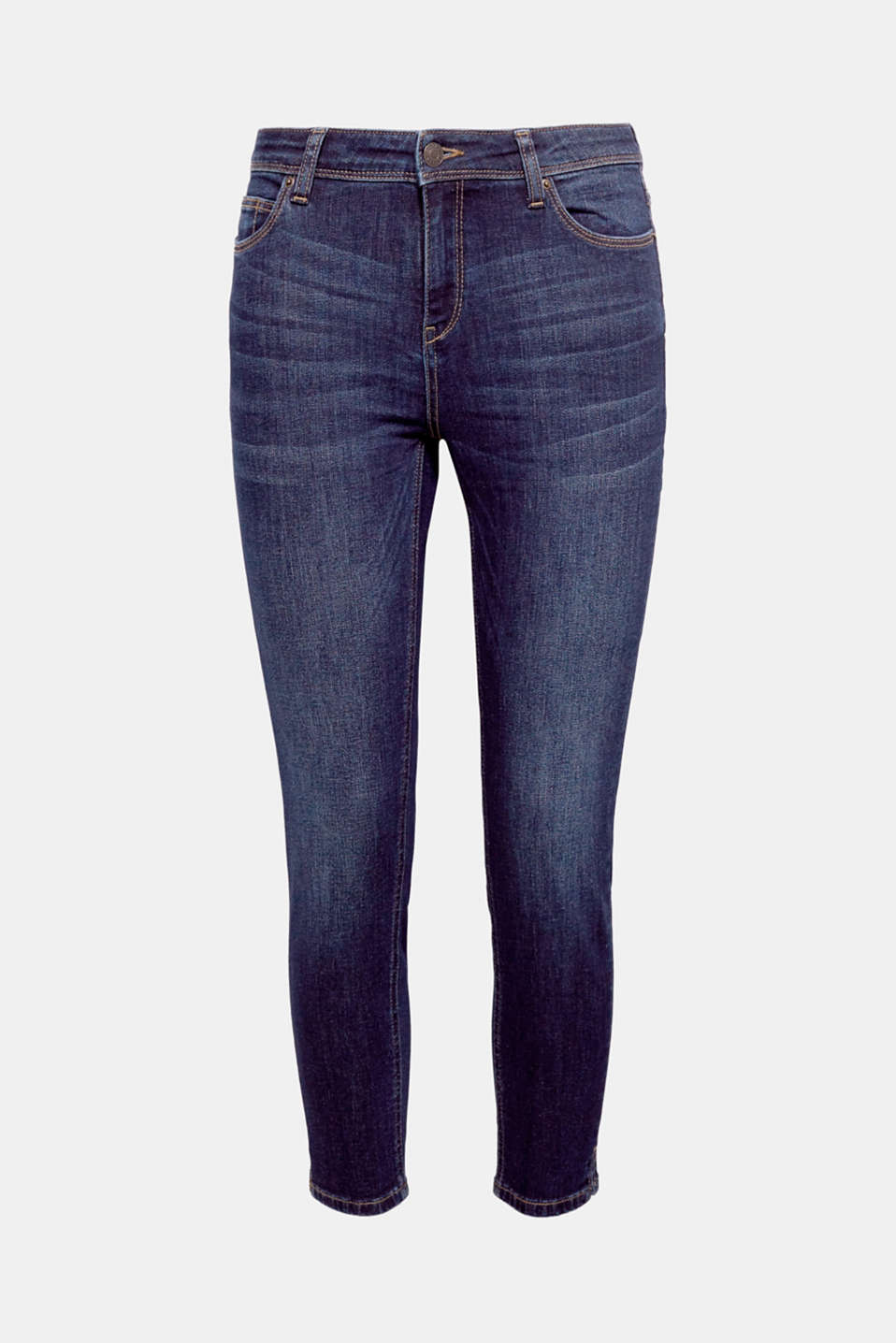 Finally! They're back: these comfortable, summery, airy capri jeans with added stretch for comfort and trendy details!