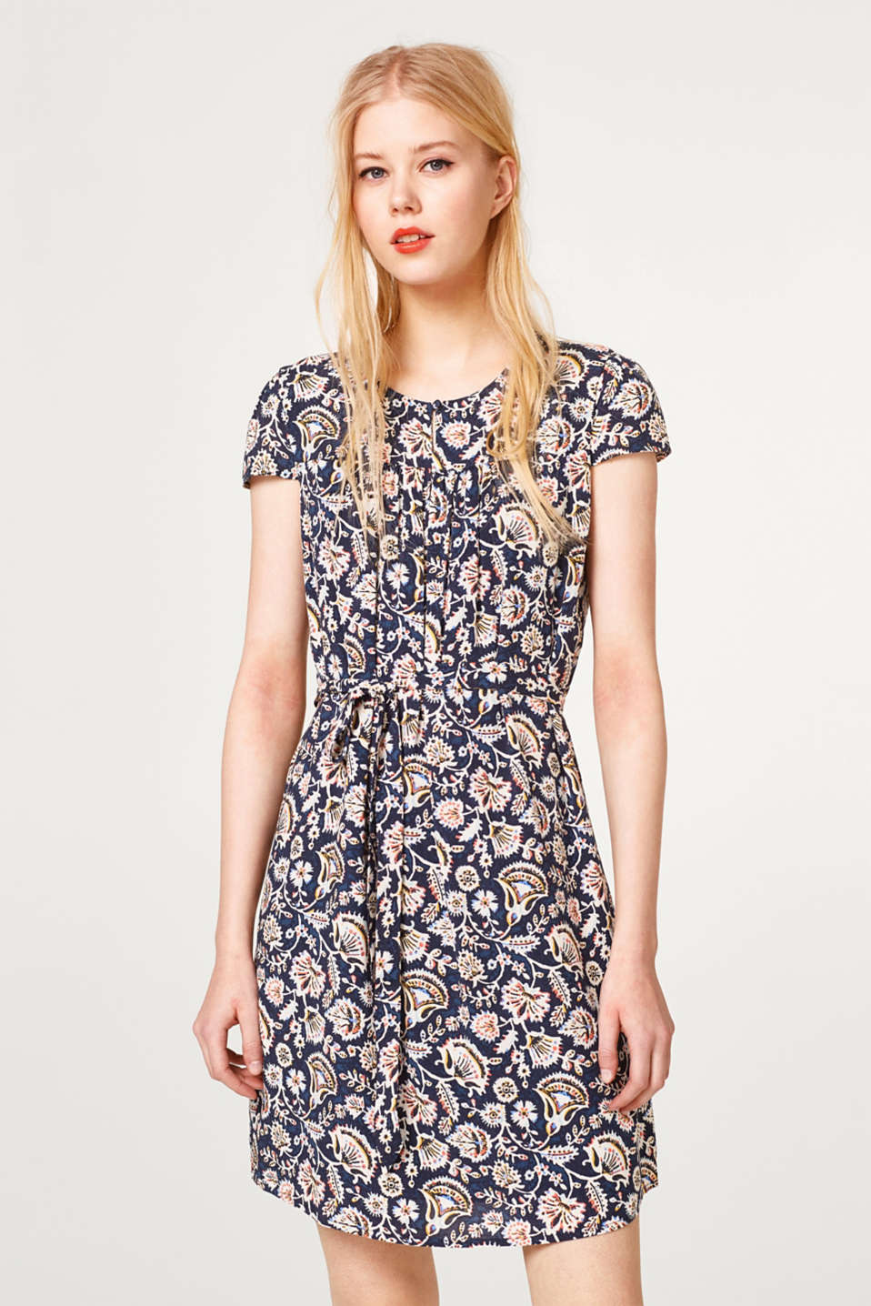 Esprit - Light dress with beautiful summer prints