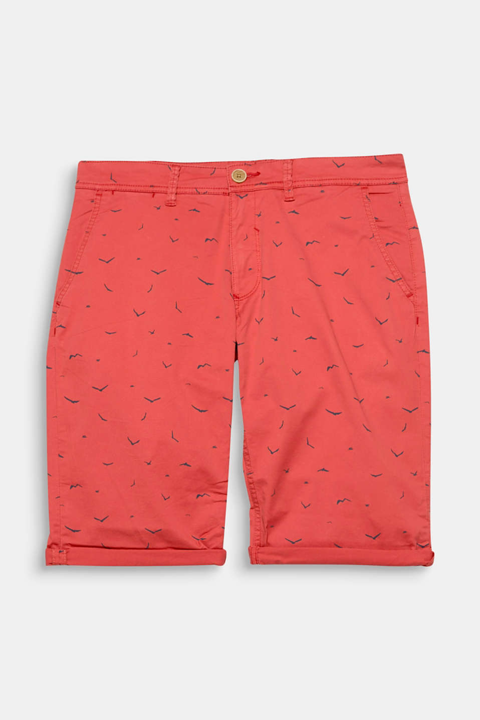 The minimal seagull print on these shorts is getting us ready for the seaside.