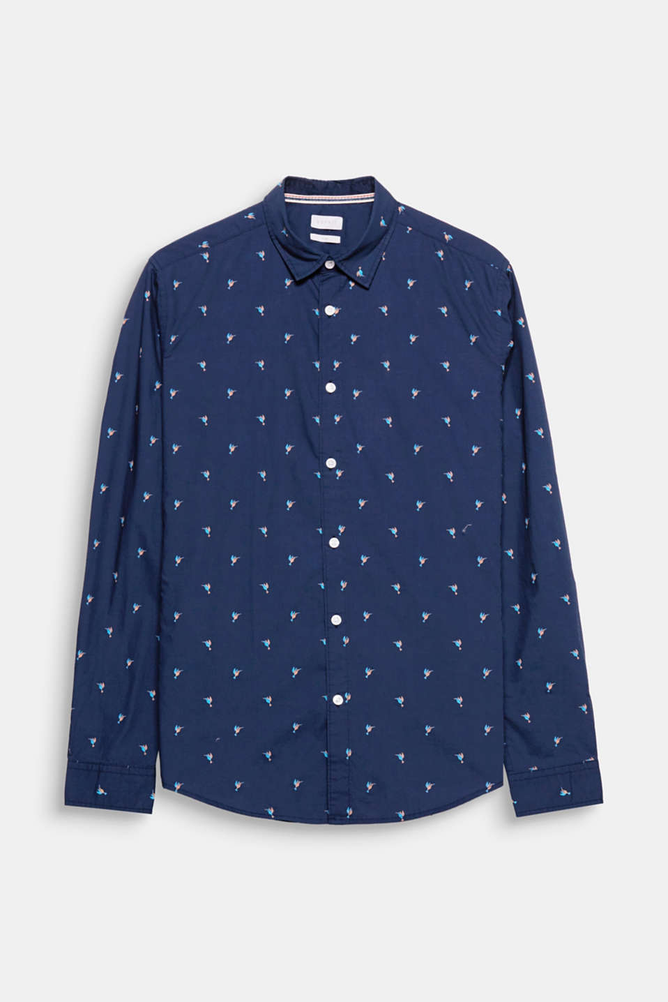The charming, understated print gives this shirt a fresh new look.