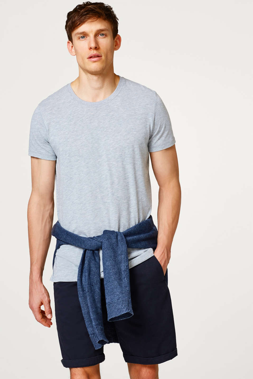 Esprit - Jersey T-shirt with E-DRY technology