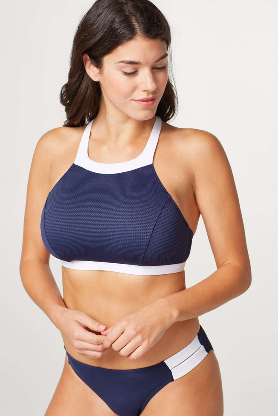 Esprit - Wattiertes High-Neck-Top für Big Cups