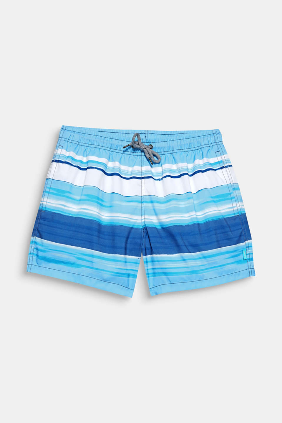 The fresh graduated colours and casual colour blocking give these swim shorts their fantastically nautical character.