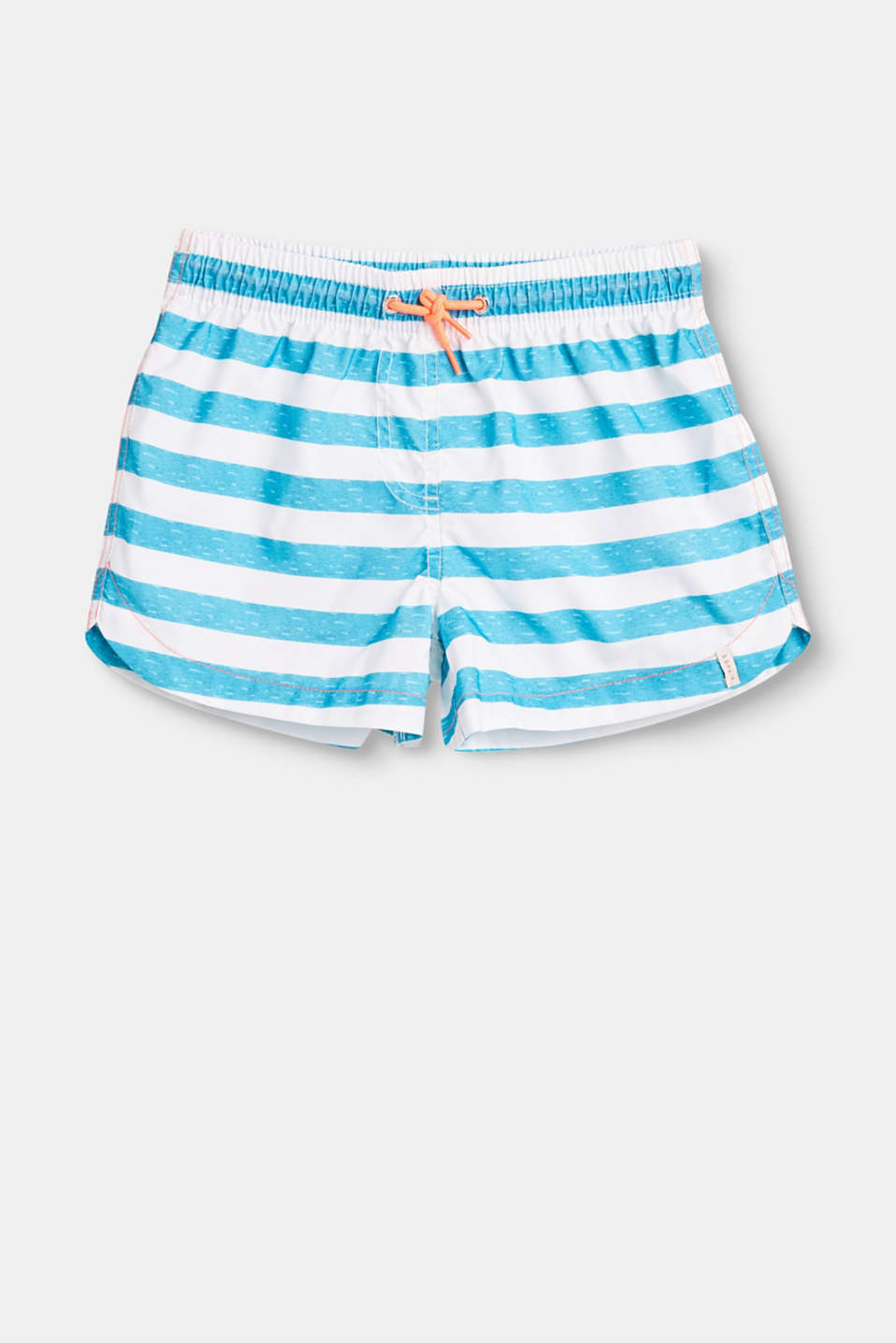 Esprit - Swim shorts with a striped print