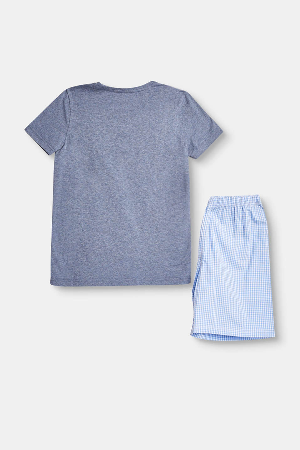 Jersey/fabric pyjama set, 100% cotton