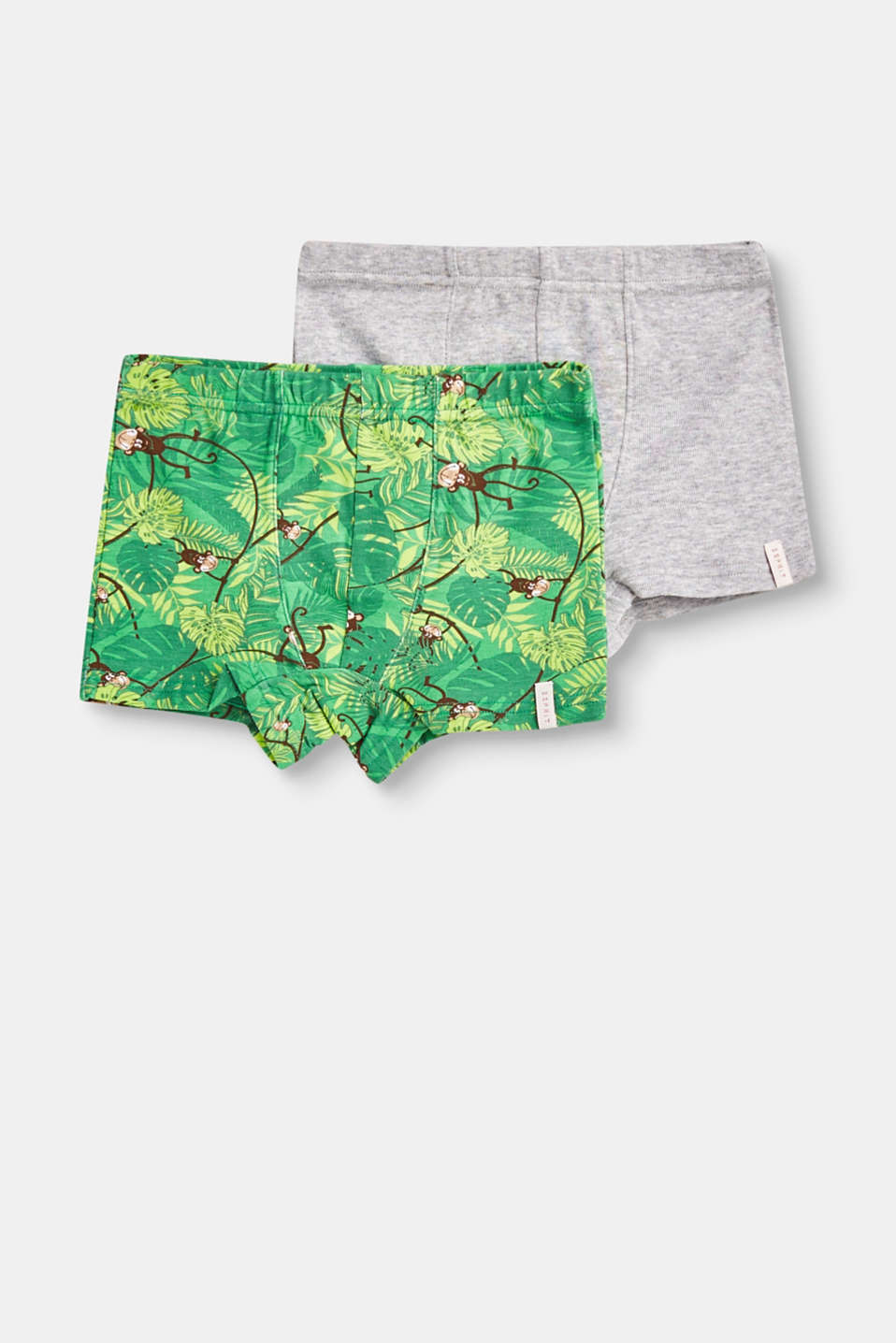 Esprit - Stretchy shorts in a double pack