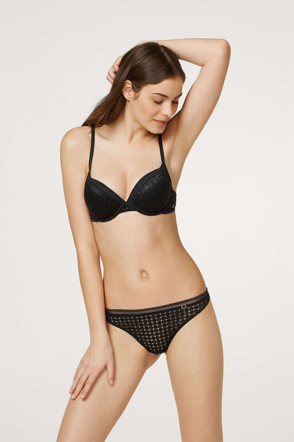 Esprit - NYE unpadded underwire bra in broderie anglaise