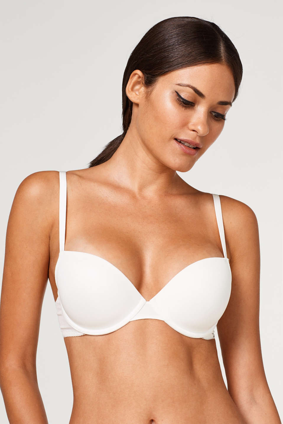 Esprit - NYE padded underwire bra with filigree lace