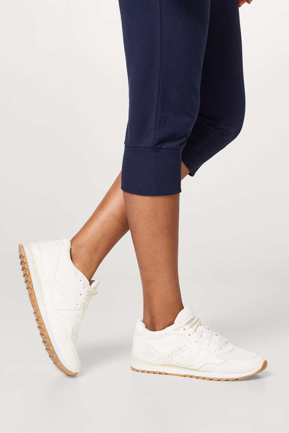 Capris made of soft sweatshirt fabric