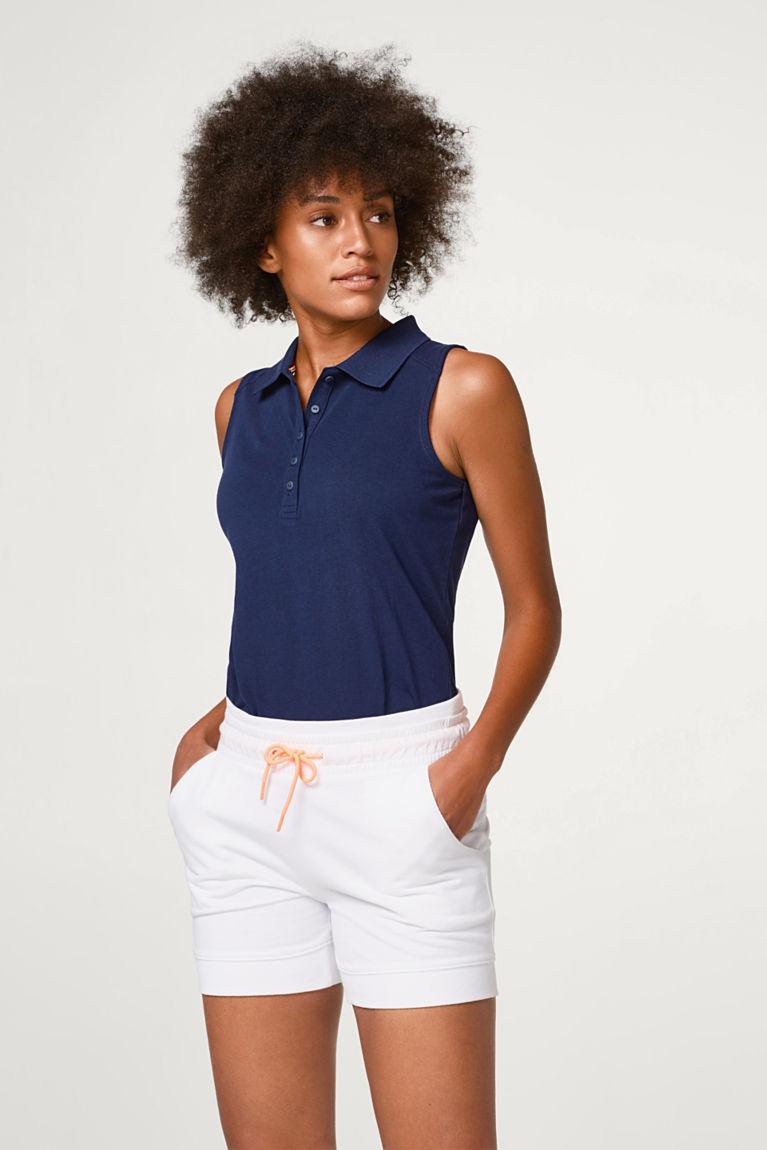 Esprit  Shorts aus weicher Sweat-Qualität weiß | 4060468682558