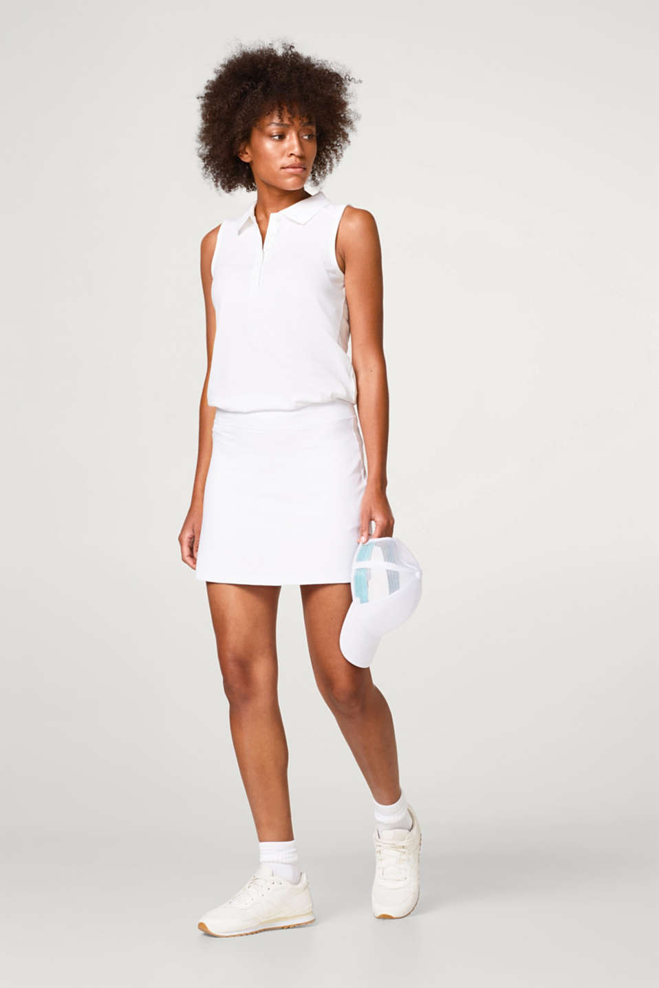 Tennis skirt with integrated shorts, E-DRY