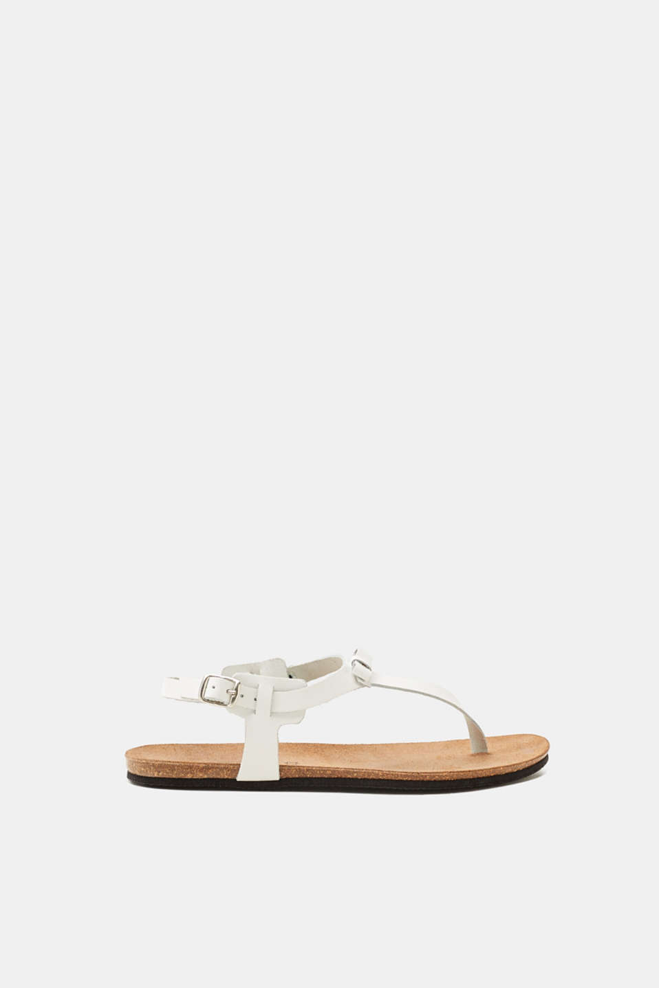 Esprit - Toe-post leather sandals