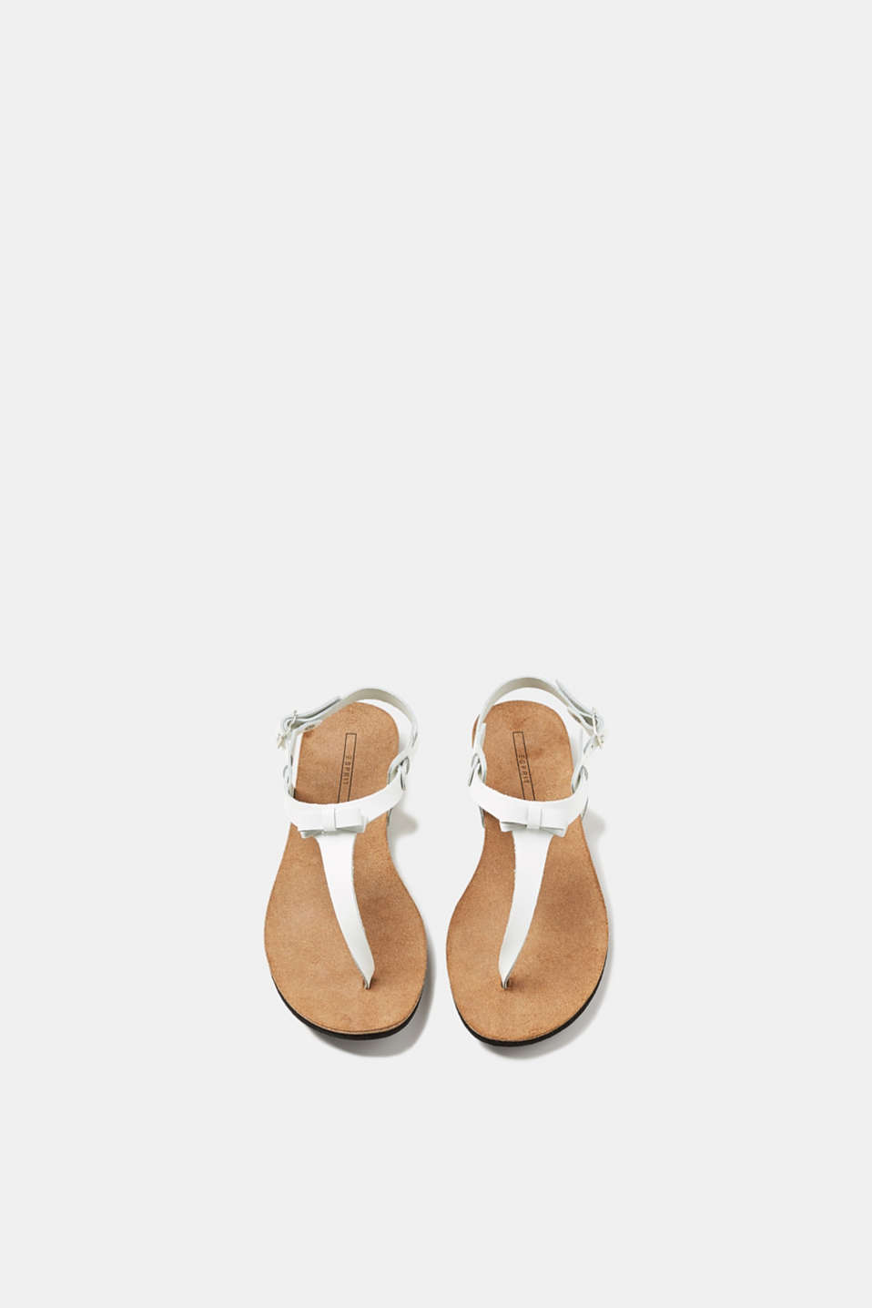 Toe-post leather sandals