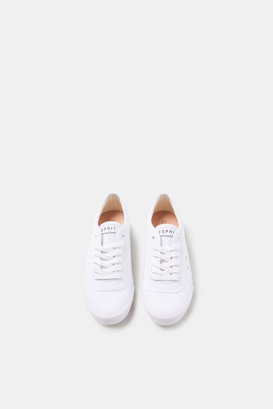 Classic cotton canvas trainers