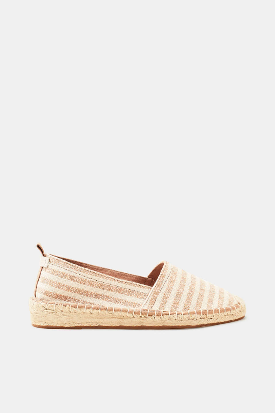 Esprit - Slip-on espadrilles in a nautical look