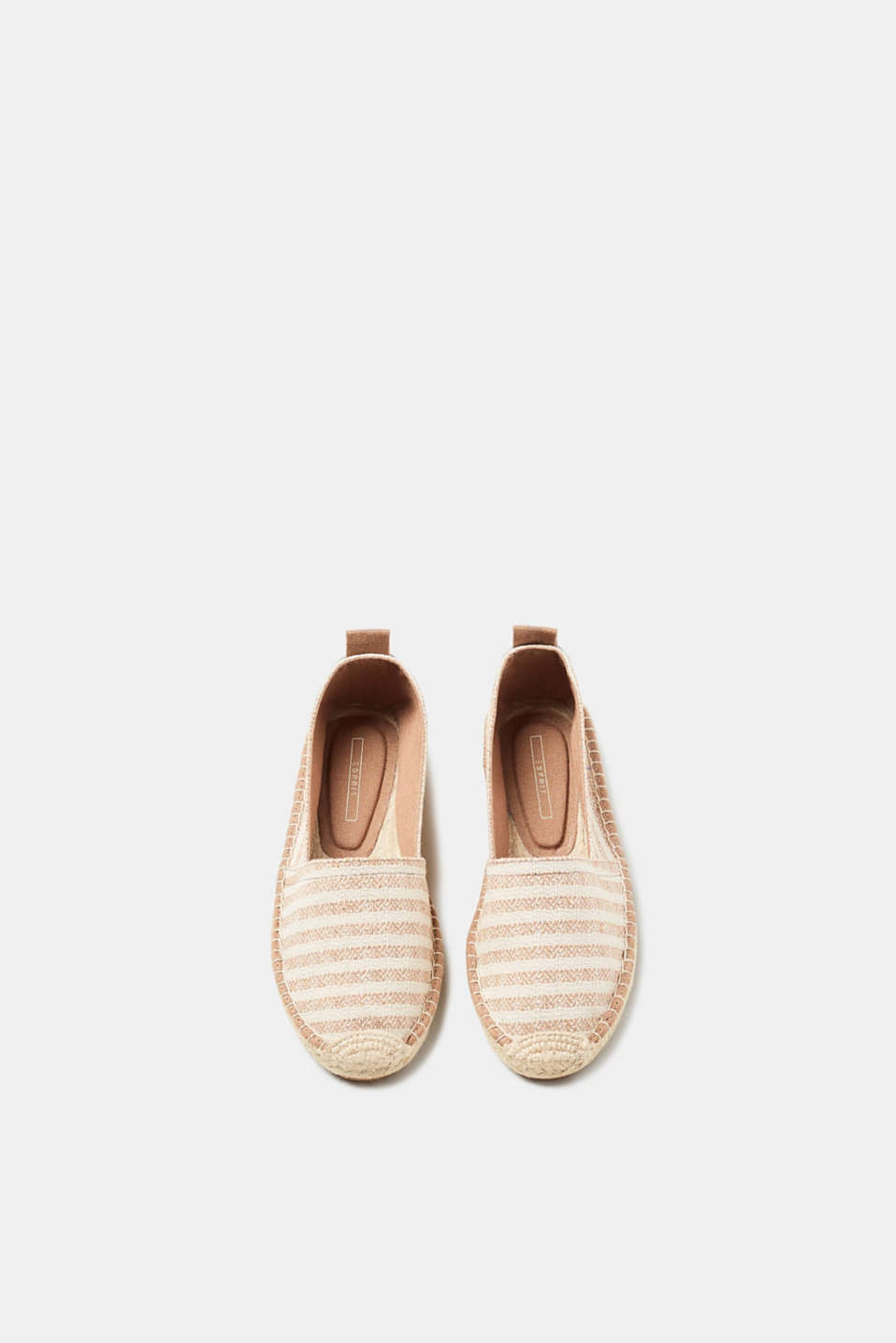 Slip-on espadrilles in a nautical look