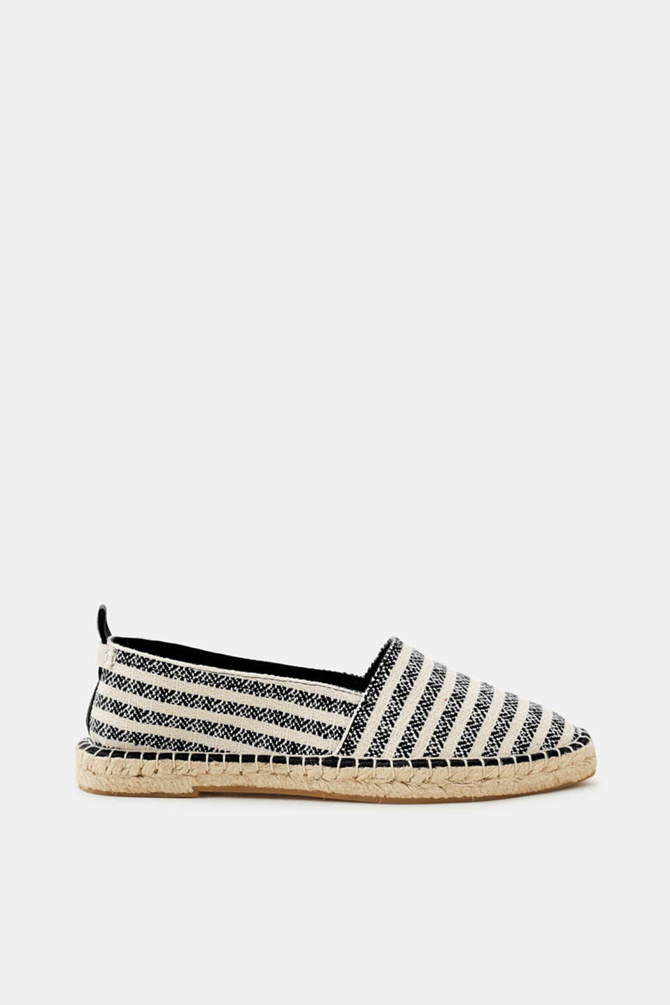 Esprit - Espadrilles with bast sole, made of cotton