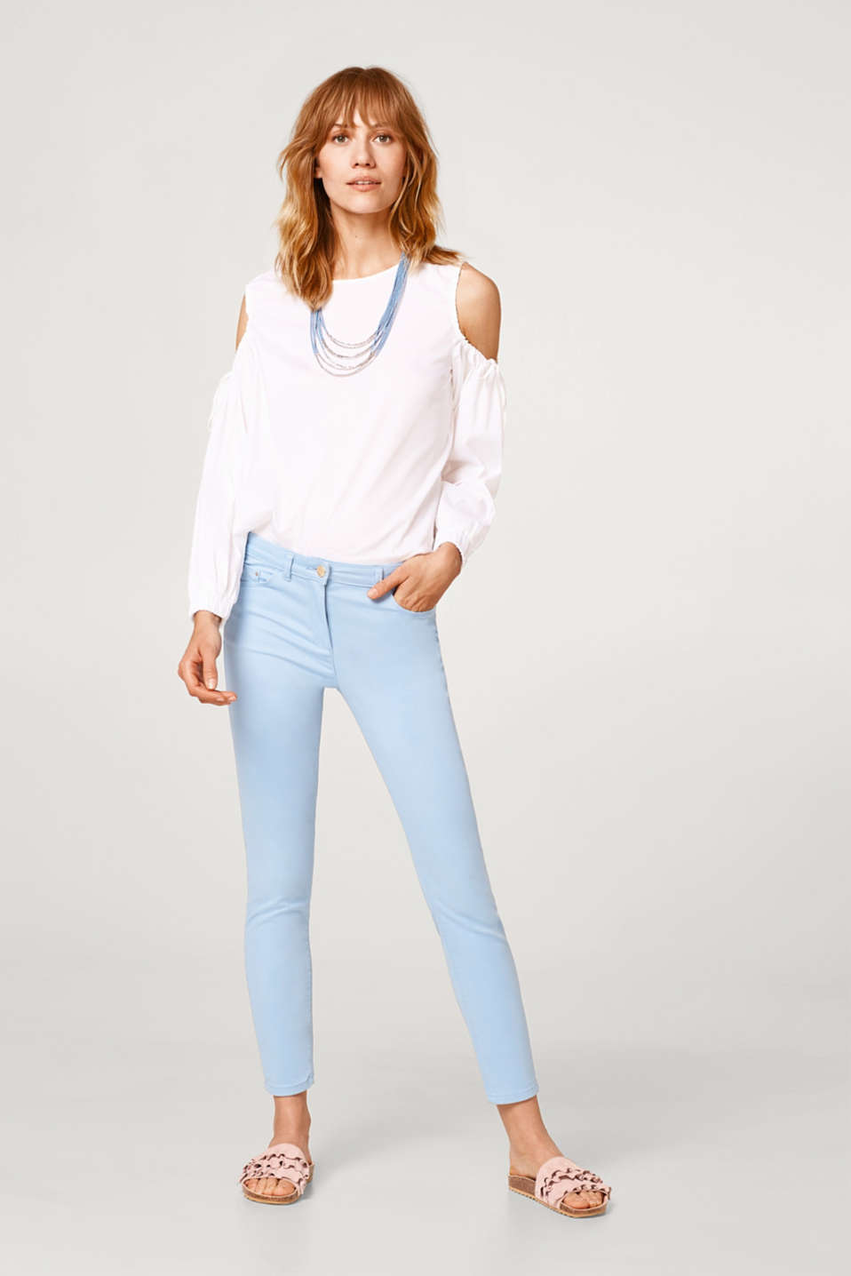 Esprit - Stretch-Pants mit super-softem Griff