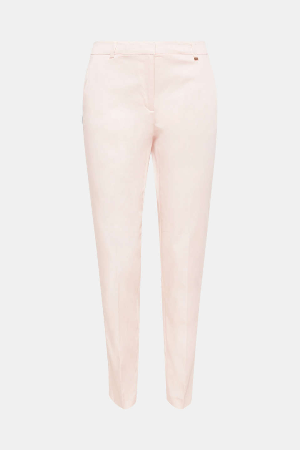 These lightweight stretch satin trousers come in a perfect business look, and are also comfortable and lightweight
