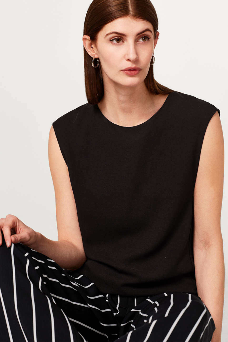 Esprit - Loose, layered-effect blouse