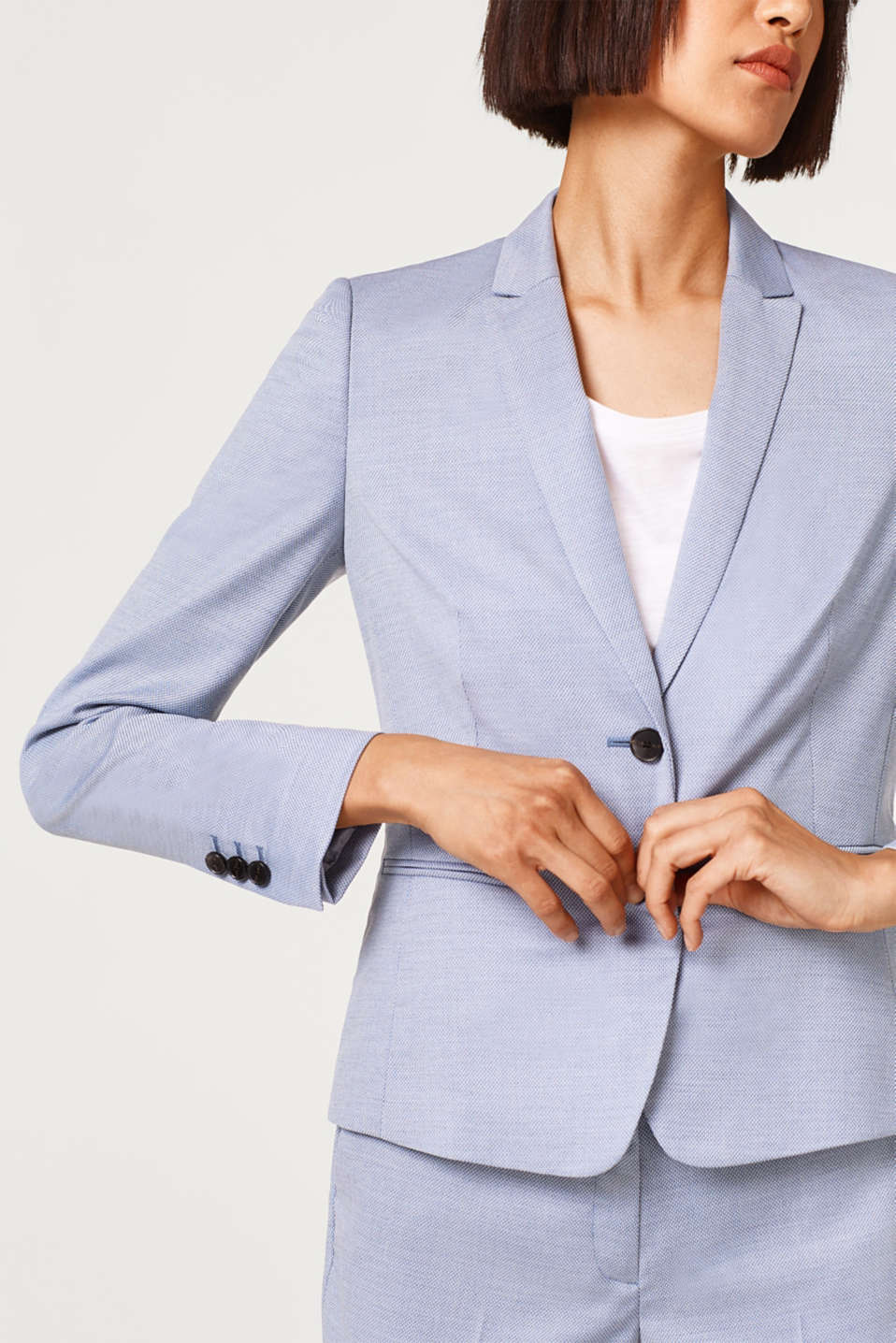 Blazer stretch Mix + Match TEXTURE MULTIPLE