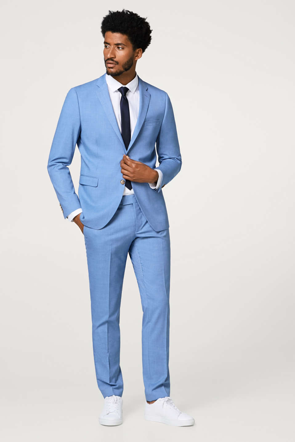 LIGHT COLORED SUIT mix + match: stretch sports jacket